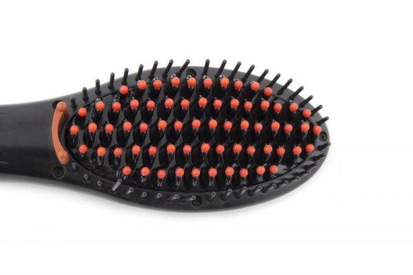 Szczotka do prostowania włosów Esperanza Kelly EBP006 (kolor czarny)