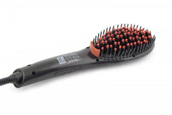 Esperanza EBP006 urządzenie do stylizacji włosów Szczotka do prostowania Czarny 1,8 m 50 W