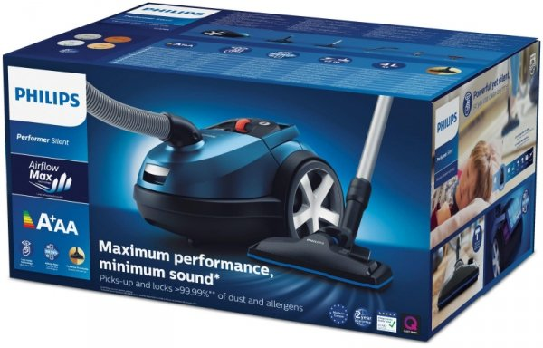 Philips 7000 series Wyłapywanie 99,9% kurzu 750W workowy
