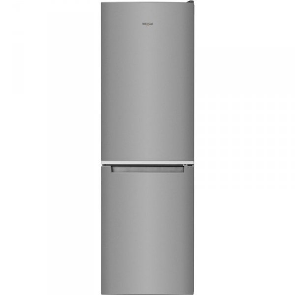Lodówka Whirlpool W7 831A OX (596mm x 1890mm x 677 mm; 215 l; kolor srebrny)