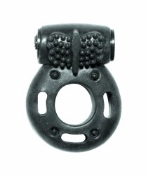 Cockring with vibration Rings Axle-pin black