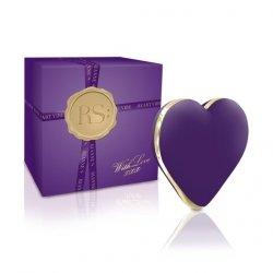 Stymulator serduszko - Rianne S Heart Vibe Deep Purple
