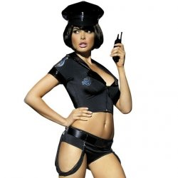 Kostium policjantka - Obsessive Police Set Costume S/M