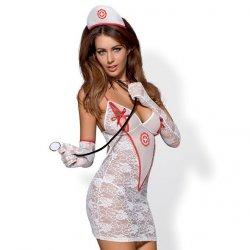 Kostium pielęgniarka - Obsessive Medica Dress Costume L/XL