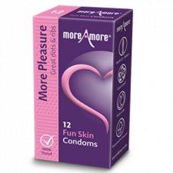 Prezerwatywy - MoreAmore Condom Fun Skin 12 szt