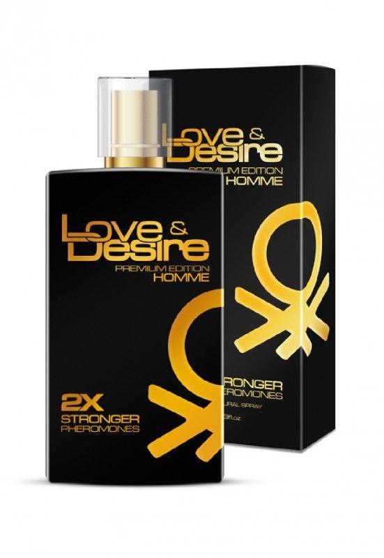 Feromony męskie Love Desire  GOLD 100 ml