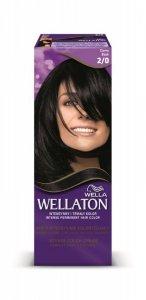 Wella Wellaton Krem intensywnie koloryzujący nr 2/0 Czarny  1op.
