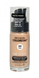 Revlon Colorstay 24H Podkład kryjąco-matujący nr 240 Medium Beige - cera mieszana i tłusta 30ml