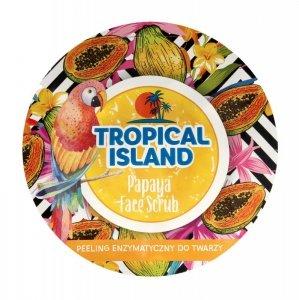 Marion Tropical Island Peeling enzymatyczny do twarzy Papaya  8g