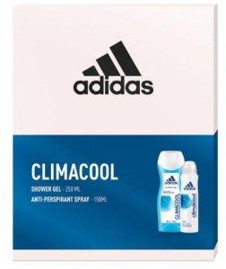 Adidas Zestaw prezentowy Climacool Women (deo spray 150ml+żel pod prysznic 250ml)
