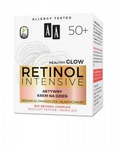 AA Retinol Intensive 50+ Aktywny Krem na dzień - redukcja zmarszczek + elastyczność 50ml