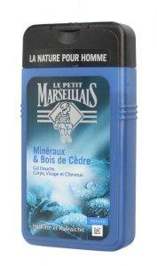Le Petit Marseillais Żel pod prysznic 3w1 dla mężczyzn Drzewo Cedrowe  250ml