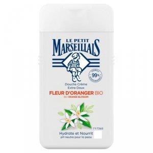Le Petit Marseillais Kremowy Żel pod prysznic BIO Kwiat Pomarańczy  250ml