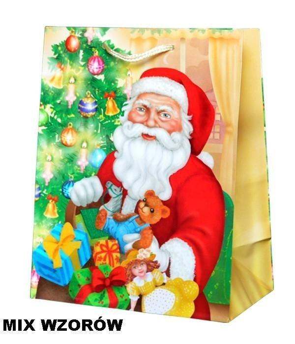 Torebka świąteczna ozdobna XL