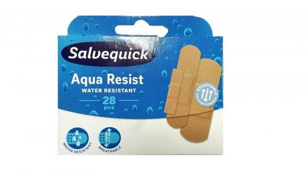 Salvequick Plastry Aqua Resist  wodoodporne  1op-28szt