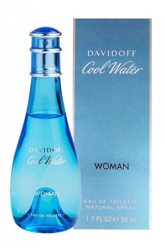 Davidoff Cool Water Woman Woda toaletowa 50 ml