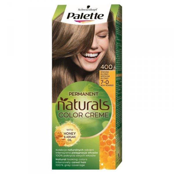 Palette Permanent Natural Colors Średni Blond nr 400  1op