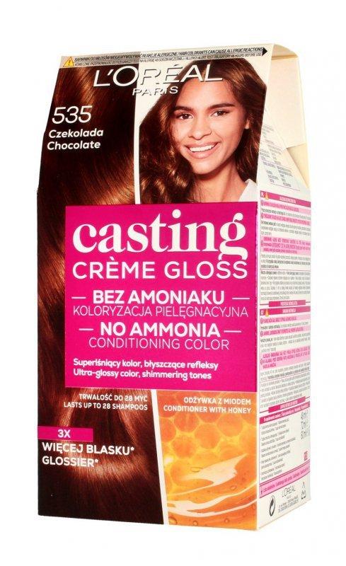Casting Creme Gloss Krem koloryzujący nr 535 Czekolada 1op.