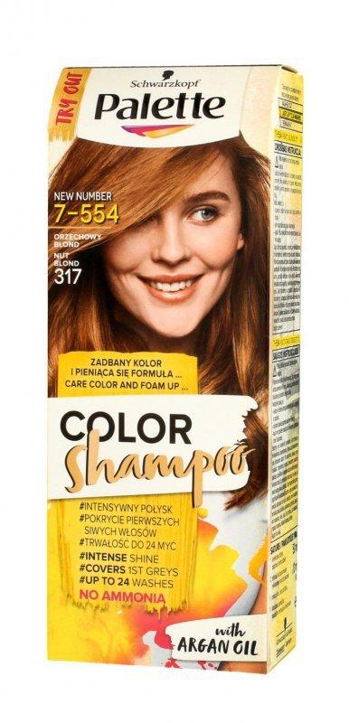 Palette Color Shampoo Szampon koloryzujący  nr 317 Orzechowy Blond  1op.