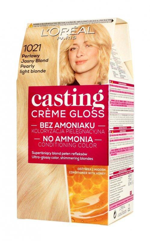 Casting Creme Gloss Krem koloryzujący nr 1021 Perłowy Jasny Blond 1op