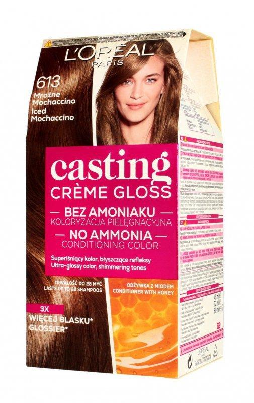 Casting Creme Gloss Krem koloryzujący nr 613 Mroźne Mochaccino 1op.