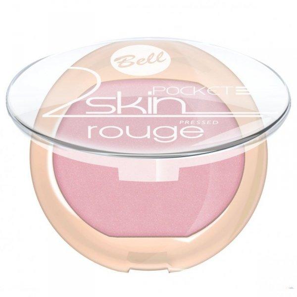 """Bell Róż do policzków """"2 Skin"""" Pocket Rouge nr 051  4.5g"""