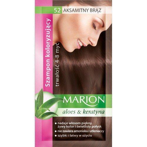 Marion Szampon koloryzujący 4-8 myć nr 52 aksamitny brąz