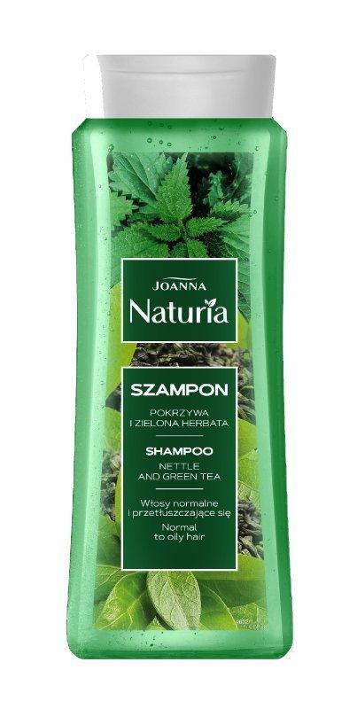 Joanna Naturia Szampon do włosów Pokrzywa i zielona herbata 500ml