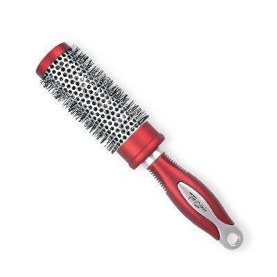 Top Choice Akcesoria do włosów Szczotka do włosów Exclusive rozm M okrągła silver/burgund  62025-01