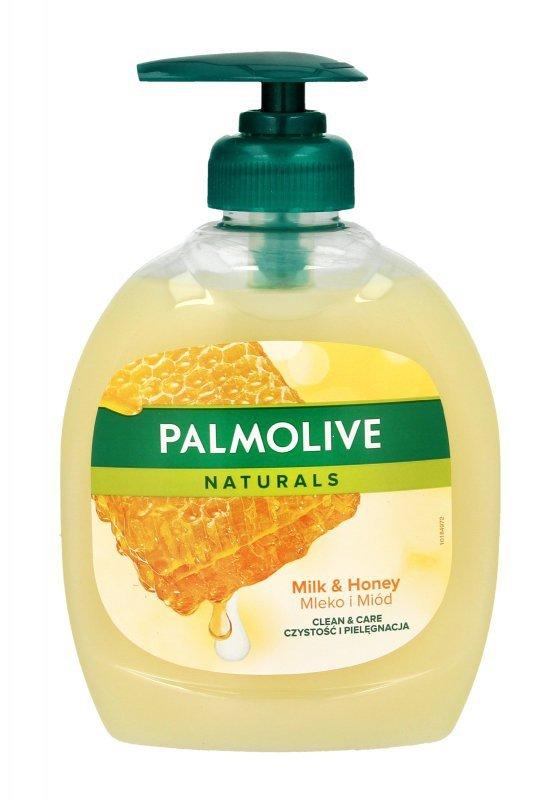 Palmolive Mydło w płynie z dozownikiem Mleko i Miód 300ml