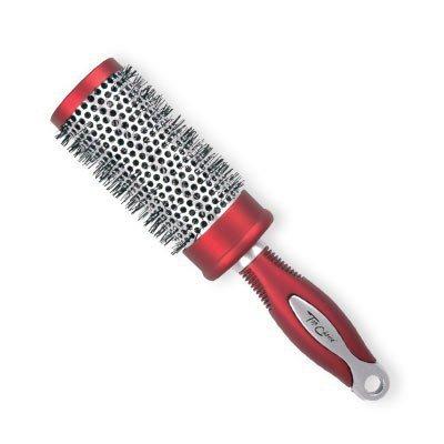 Top Choice Szczotka do włosów Exclusive rozm L okrągła silver/burgund  6203201