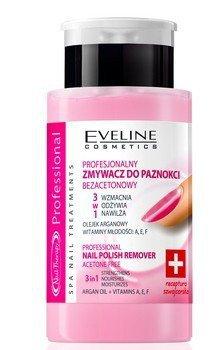 Eveline Nail Therapy Professional Zmywacz do paznokci 3w1 bezacetonowy  190 ml