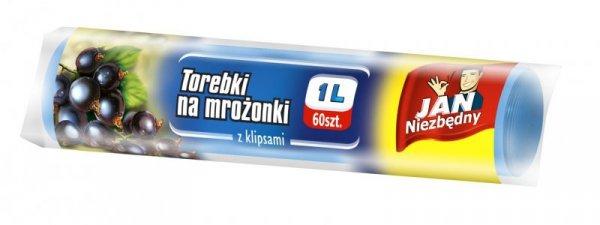 Sarantis Jan Niezbędny Torebki na mrożonki 1L 60 szt