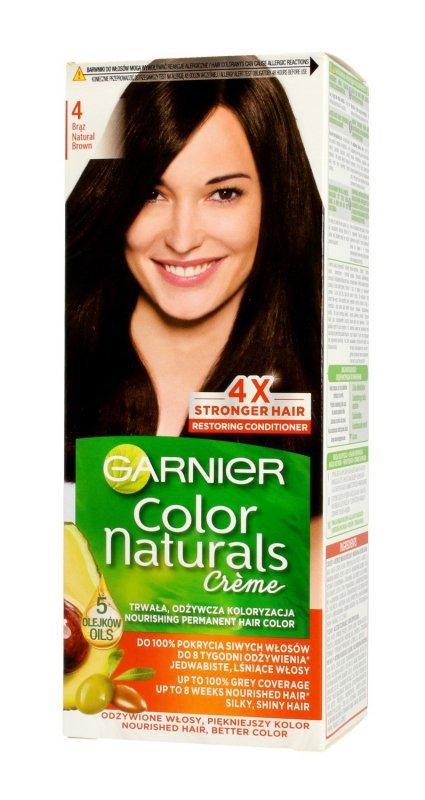Garnier Color Naturals Krem koloryzujący nr 4 Brąz 1op