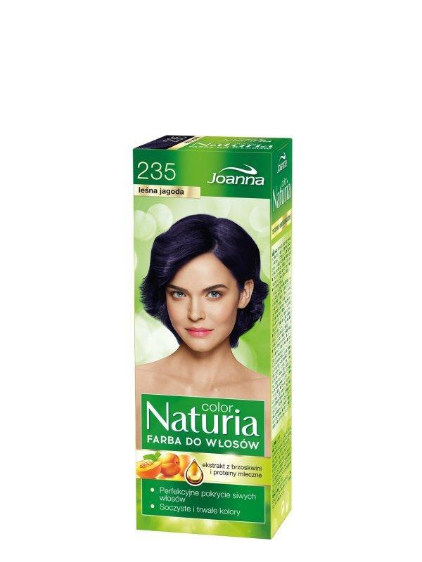 Joanna Naturia Color Farba do włosów nr 235-leśna jagoda  150g