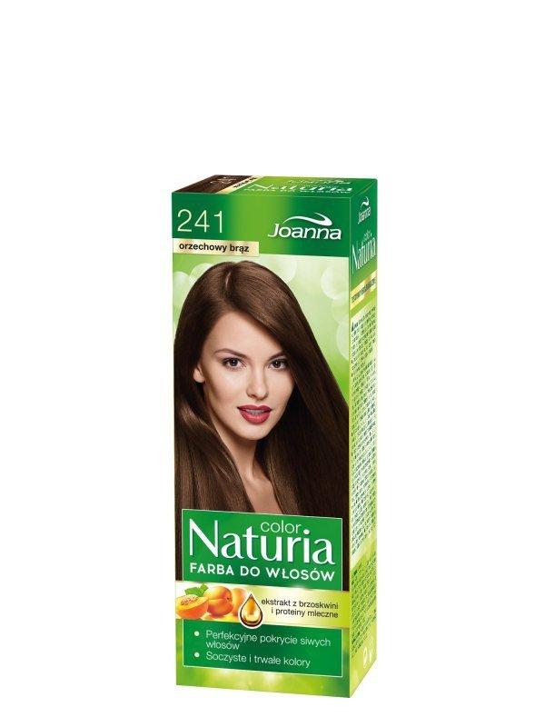 Joanna Naturia Color Farba do włosów nr 241-orzechowy brąz  150g