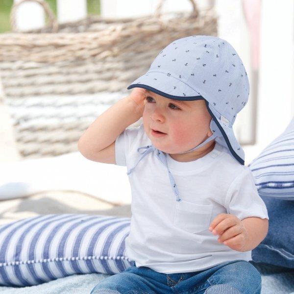 Dziecięca czapka na lato z filtrem UV
