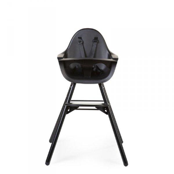 Childhome Krzesełko do karmienia Evolu 2 Black/Black