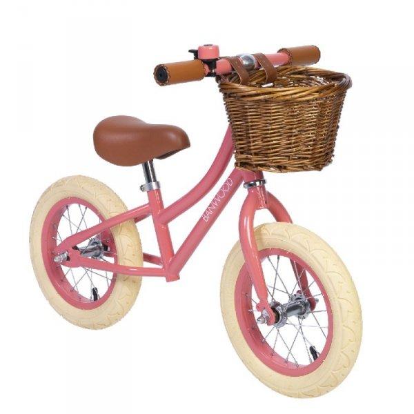 Banwood FIRST GO! rowerek biegowy coral