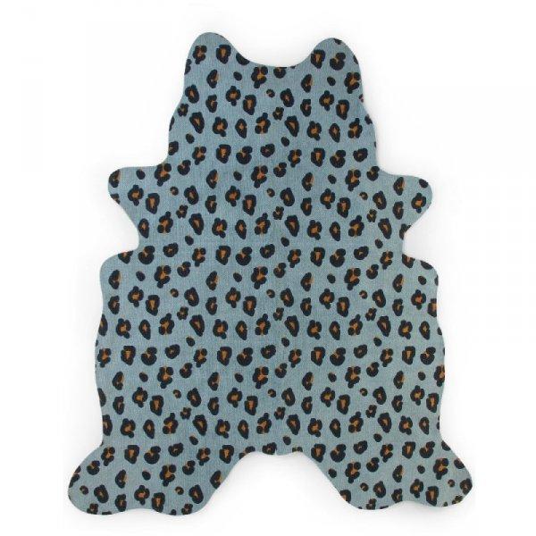 Childhome Dywan Leopard 145 x 160 cm Blue
