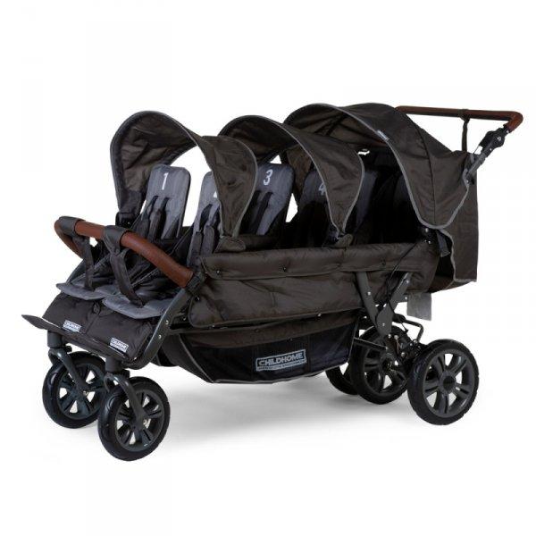 Childhome Wózek sześcioosobowy Sixseater NEW Autobrake