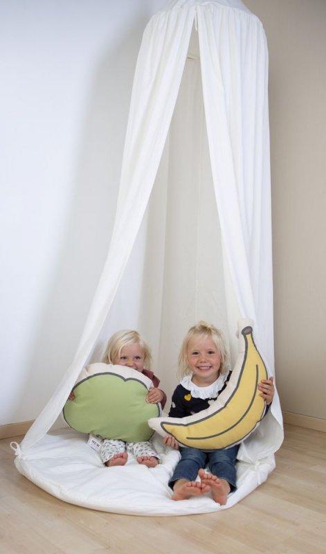 Childhome Poduszka kanwas Banan