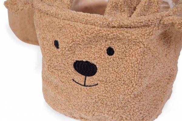 Childhome Pluszowy pojemnik na zabawki 25 x 20 x 20 cm Teddy Bear
