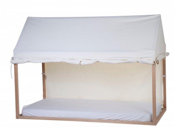 Childhome Pokrowiec do ramy Tipi Domek 90 x 200 cm White