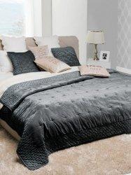 Narzuta typu velvet Alpana czarna 240x220