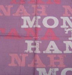 Poszewka dziecięca Hanna Montana napisy
