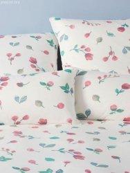 Elegante pościel mako- jersey Laville rose 3515 155x200