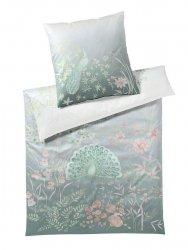 Elegante pościel bawełniana egipska Fantasia salbei 2250 155x200
