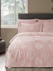 Tivolyo exclusive pościel żakardowa Lidia pink 200x220
