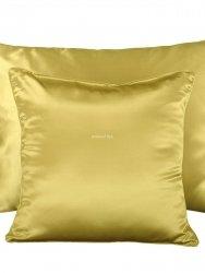 Jedwabna poszewka na poduszkę gold 40x40, 50x70, 70x80
